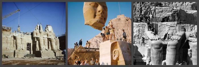 Перенос храмов Абу-Симбел на новое место