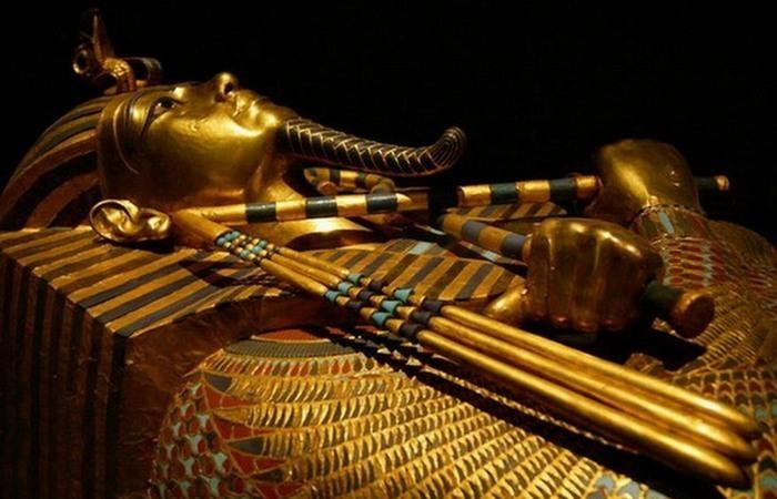Саркофаг Тутанхамона./ Фото: egypttoday.com